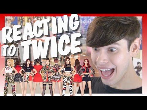 Reacting to TWICE I Dylan Jacob