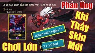 [Gcaothu] Phản ứng trầm trồ của team khi thấy Omen Quỷ Nguyệt Tướng - Một lần chơi lớn