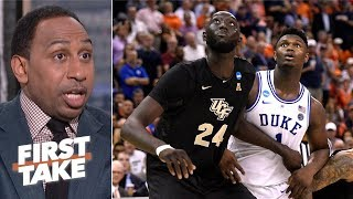 UCF exposed the blueprint for beating Zion, Duke - Stephen A. | First Take
