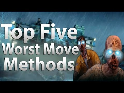 TOP 5 Worst Transportation Methods in 'Call of Duty Zombies' -