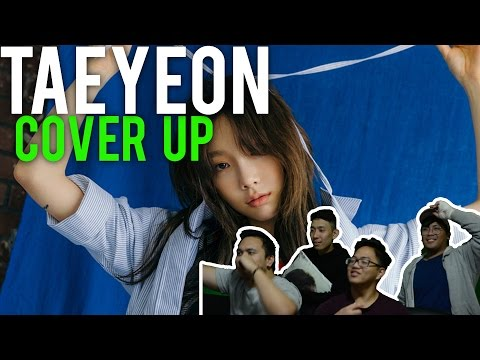 TAEYEON'S COVER UP LYRIC VIDEO (Reaction)