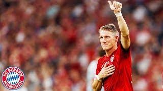 The last Goal of Bastian Schweinsteiger in the Allianz Arena!