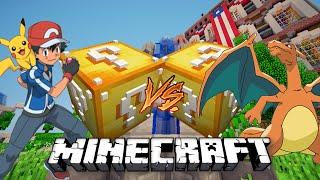 Minecraft: Lucky Block VN | Pokemon - Rồng Lửa quá mạnh