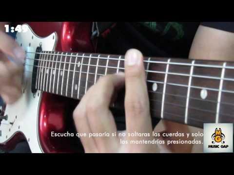Con Todo - Rojo (Tutorial Completo para Guitarra) Efectos Wah Wah y Wahmmy