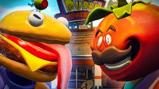 DURR BURGER VS TOMATO HEAD *Complete Series* - Fortnite Film