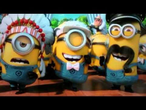 Despicable Me 2 - Minion Dance Y.M.C.A - YouTube