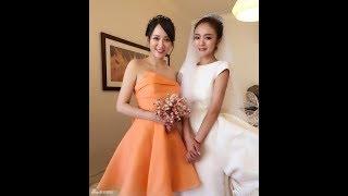 Đám cưới An Dĩ Hiên: Phù dâu Trần Kiều Ân xinh ngất ngây, hạnh phúc đón được hoa từ cô dâu