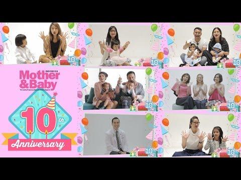 Ucapan Ulang Tahun untuk Mother&Baby Indonesia ke-10 Tahun