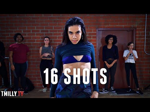 Stefflon Don - 16 Shots - Dance Choreography by Tricia Miranda - Filmed by @TimMilgram - #TMillyTV