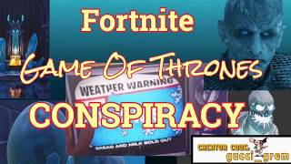 Game Of Thrones IS COMING TO FORTNITE!!!