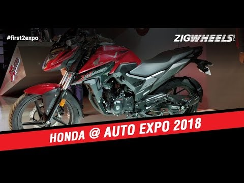 Honda Activa 5G And XBlade At Auto Expo 2018