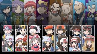 Pokemon - All Gym Leader Battle Themes V3