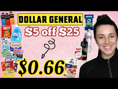 4 Dollar General Breakdowns for under $1 per item | AS LOW AS $0.66 FOR EVERYTHING