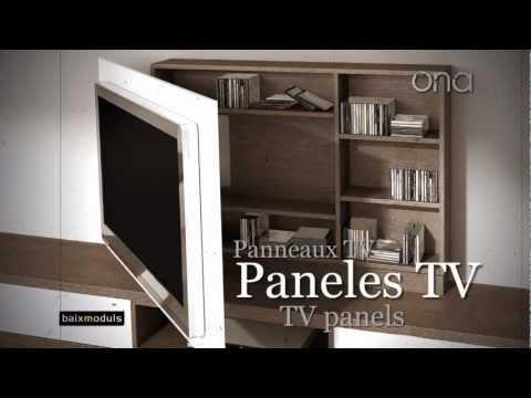 Como instalar soporte articulado para tv de led lcd plasma - Muebles para televisiones planas ...