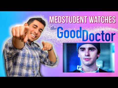 Real Medical Student Reacts to THE GOOD DOCTOR | Medical Drama Review | Doctor Disney