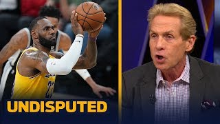 Skip Bayless on why LeBron's late game free throw woes are concerning | NBA | UNDISPUTED