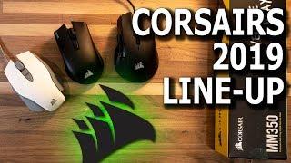 Corsairs New 2019 Mouse Line-up - M65 RGB Elite, Harpoon RGB Wireless and Harpoon RGB