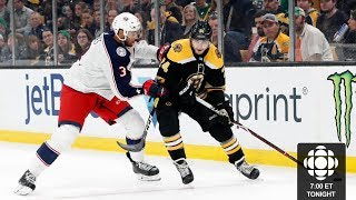 Columbus Blue Jackets vs Boston Bruins Game 1 | 2019 NHL Stanley Cup Playoffs Round 2 Live Reaction
