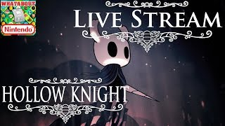 Hollow Knight: Exploring a Beautiful Bug World Live! (Road to 3k)