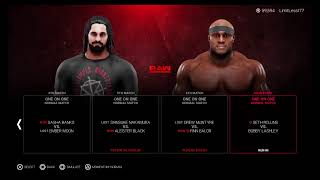 WWE 2K19 24/7 Season 2, Raw prt2 ( 3 weeks till Survivor Series NXT vs WWE)