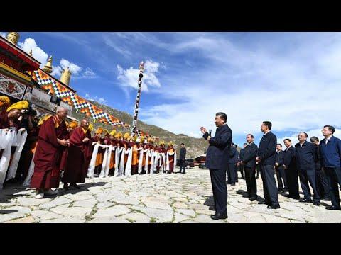 "CGTN: Čína slibuje ""trvalou stabilitu a kvalitní rozvoj"" v Tibetské autonomní oblasti"