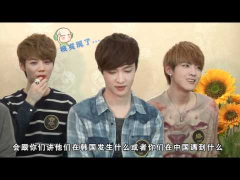 120420 EXO-M on Yin Yue Tai