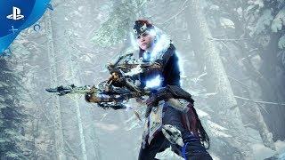 Monster hunter world: iceborne x horizon zero dawn: the frozen wilds :  teaser