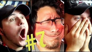 TRY NOT TO LAUGH CHALLENGE!!! #7, MARKIPLIER | Reaction Video |