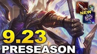Patch 9.23 PRESEASON - Everything you need to know