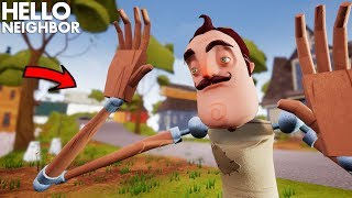 The Neighbor TURNS INTO A DUMMY!!! | Hello Neighbor (Mods)