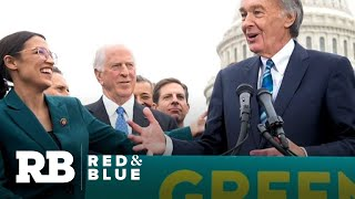 """2020 Democrats weigh in on Green New Deal but McConnell vows to be """"grim reaper"""" of progressive i…"""