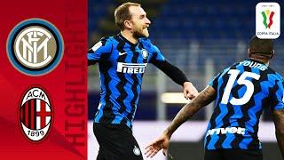 Inter 2-1 Milan | Eriksen Scores a 97th to Win Derby THRILLER! | Coppa Italia 2020/21