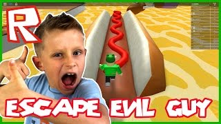 How to Escape the Giant Fat Guy Obby ?!? / Roblox