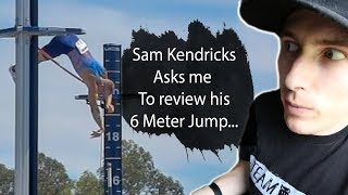 Sam Kendricks asked me to review his 6m Vault | Team Hoot Pole vault