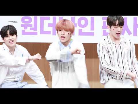 190525 팬싸인회 원더나인 1THE9 - Spotlight 정진성 JUNG JINSUNG