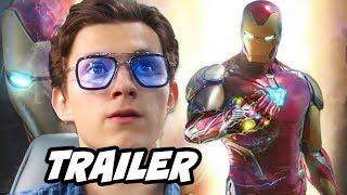 Spider-Man Far From Home Trailer - Iron Man Scene Easter Eggs Breakdown
