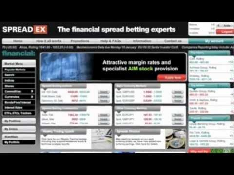 How to Place a Financial Spread Bet at Spreadex