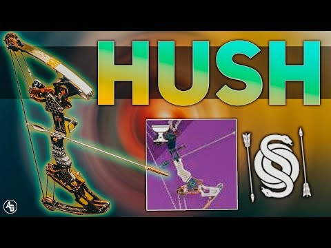 Hush Bow Review (Gambit Pinnacle Weapon)   Destiny 2 Season of Opulence