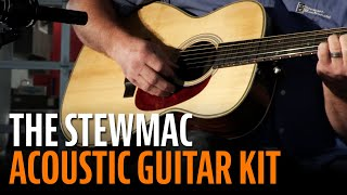Watch the Trade Secrets Video, Why Build a StewMac Acoustic Guitar Kit?