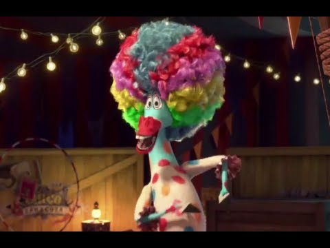 Madagascar 3 Europe's Most Wanted - Official Afro Circus Dance Scene - YouTube