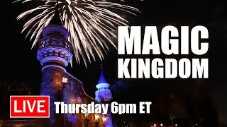🔴 Live: Let's Have Some Fun At Magic Kingdom | Walt Disney World Live Stream