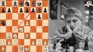 ¡Bobby Fischer vence a un Gran Maestro en 10 movimientos! (Pero Reshevsky sigue jugando)