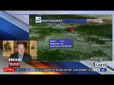 Early morning earthquake | Breaking news