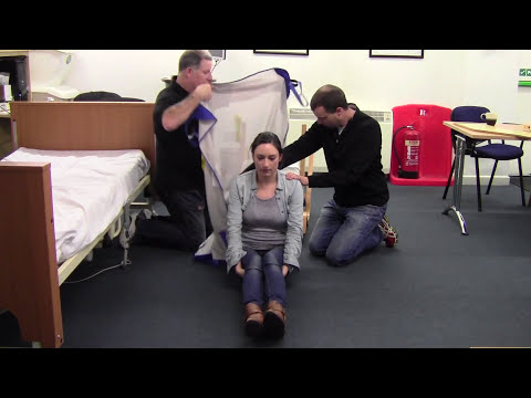 Hoist Floor To Bed Patient Moving & Handling