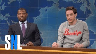 Weekend Update: Pete Davidson on Hulk Hogan - SNL