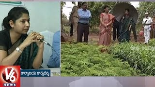 Smita Sabarwal Visits Siddipet District : Holds Review Mee..