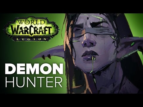 WoW Legion - Demon Hunter Story & Starting Zone Explained