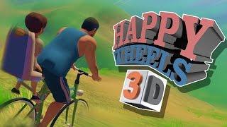 HAPPY WHEELS 3D RAGE! + Ainsley Dies