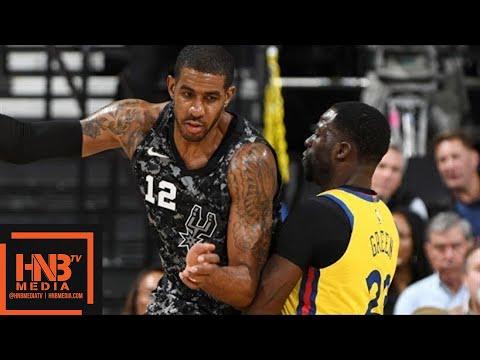Golden State Warriors vs San Antonio Spurs