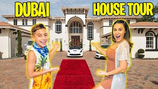 Our FIRST DAY in DUBAI! (HOUSE TOUR) | The Royalty Family